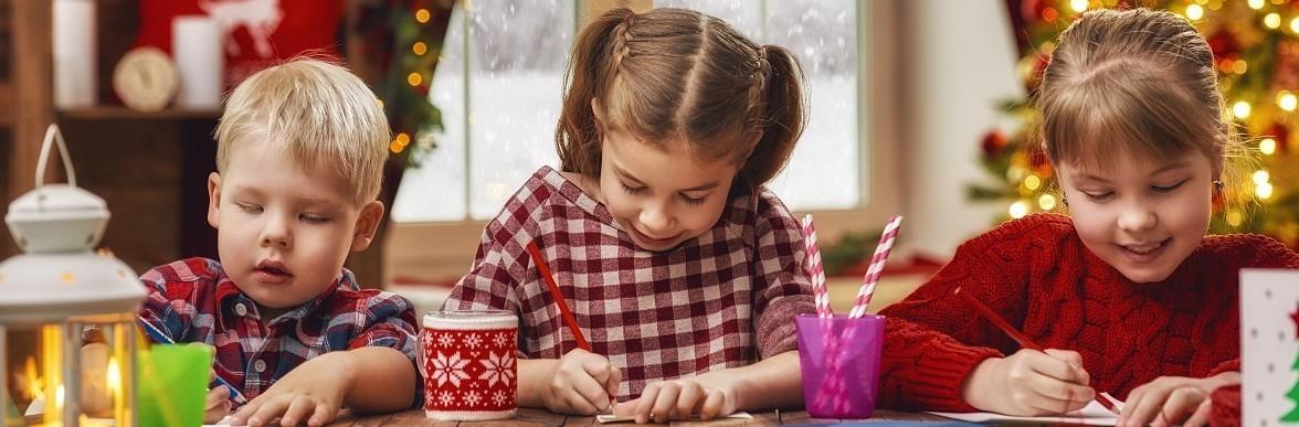 Kerst kleuren kinderen MR